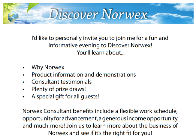 Join me for Discovering Your Norwex in Sioux Falls SD Sonya