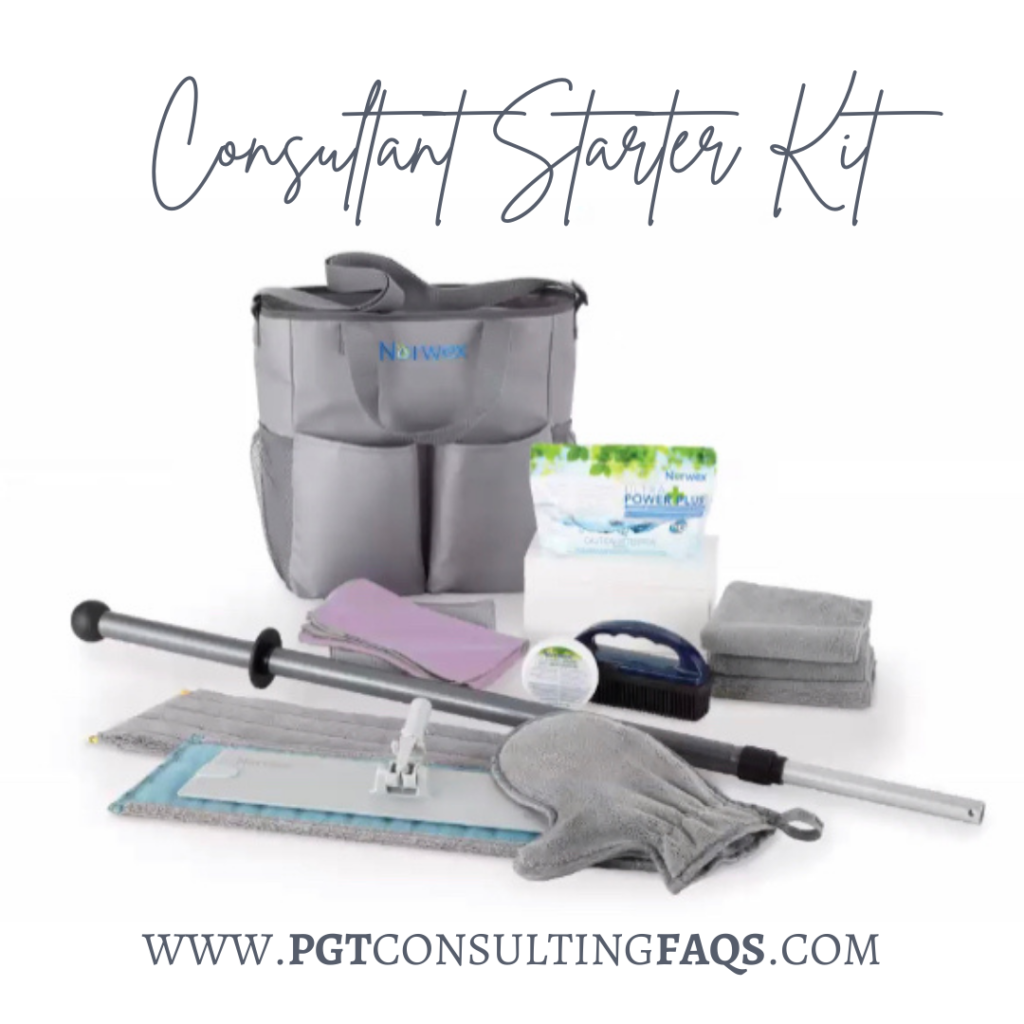 NEW 2021 Norwex Consultant Starter Kit includes the NEW MOP!