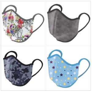 Best Silver-embedded face masks for teens, middle school, pre-teen, children